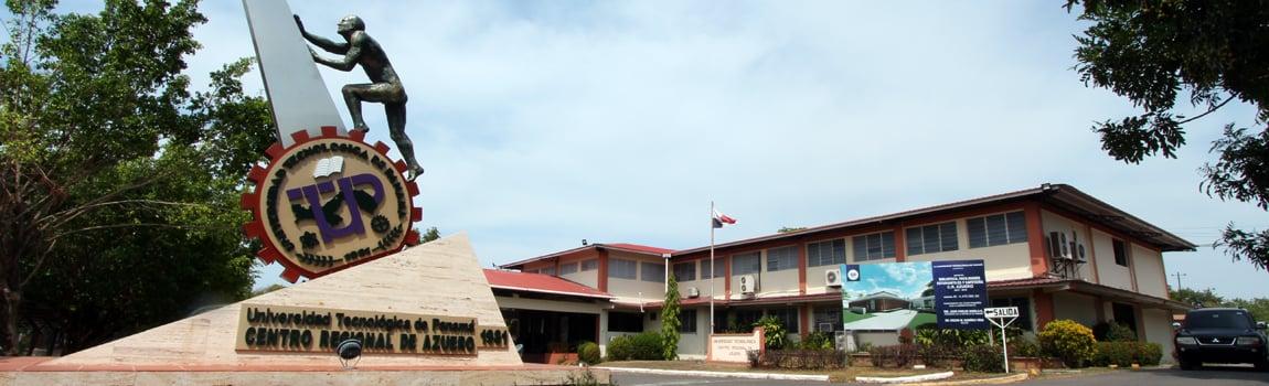 Vista del Edificio Principal del Centro Regional de Azuero.