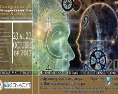 Afiche Oficial del VIII Congreso de Ingeniería en Azuero 2017