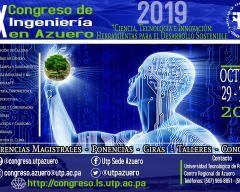 Afiche Promocional IX Congreso de Ingeniería en Azuero.